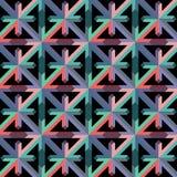 Abstrakt geometrisk bakgrundsvektorillustration Arkivbilder