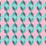 Abstrakt geometrisk bakgrundsvektorillustration Royaltyfri Fotografi