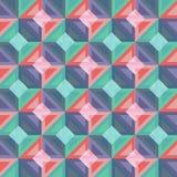 Abstrakt geometrisk bakgrundsvektorillustration Royaltyfria Bilder