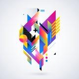 Abstrakt geometrisk beståndsdel Royaltyfria Foton