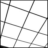 Abstrakt geometrisk datalista Arkivbilder