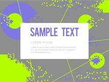 Abstrakt geometrisk färgrik vektorbakgrund Arkivbild