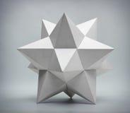 Abstrakt geometrisk form Arkivbild
