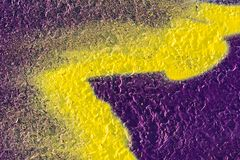 Abstrakt geometrisk gul modell royaltyfri bild