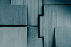 Abstrakt geometrisk konkret textur Fotografering för Bildbyråer