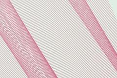 Abstrakt geometrisk linje för bakgrund, kurva & vågmodell för design Idérikt, smutsigt, vektor & yttersida royaltyfri illustrationer