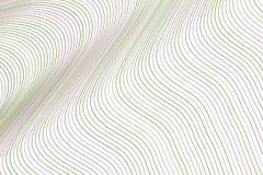 Abstrakt geometrisk linje för bakgrund, kurva & vågmodell för design Räkning, garnering, teckning & stil stock illustrationer