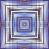 abstrakt geometrisk modell Arkivbild