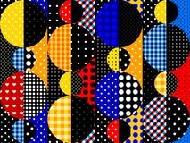 abstrakt geometrisk modell stock illustrationer