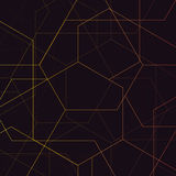 abstrakt geometrisk modell Fotografering för Bildbyråer