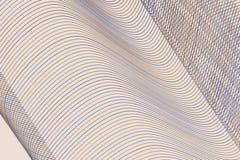 Abstrakt geometrisk modell för linje, för kurva & för våg Teckning, rengöringsduk, repetition & bakgrund royaltyfri illustrationer