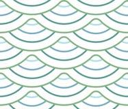 Abstrakt geometrisk modell med krabba linjer, band En sömlös vektorbakgrund Beiga- och vitprydnad royaltyfri fotografi