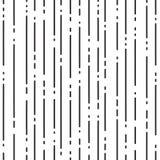 Abstrakt geometrisk modell med svarta prickiga linjer på vit bakgrund vektor vektor illustrationer