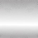 abstrakt geometrisk modell minska perspektiv stock illustrationer