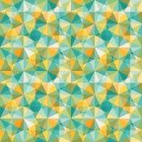 Abstrakt geometrisk mosiacmodell Fotografering för Bildbyråer