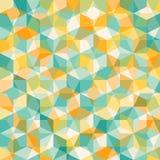 Abstrakt geometrisk mosiacmodell Royaltyfri Foto
