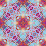 Abstrakt geometrisk oljig textur av målarfärg, vektor för suddmodellvår Fotografering för Bildbyråer