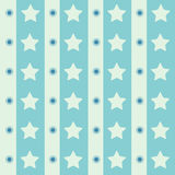 Abstrakt geometrisk retro sömlös polkastjärnabakgrund också vektor för coreldrawillustration Royaltyfri Fotografi