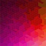 Abstrakt geometrisk sömlös modell Royaltyfria Bilder