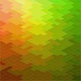 Abstrakt geometrisk sömlös modell Arkivfoton
