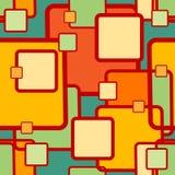 Abstrakt geometrisk sömlös modell Royaltyfri Fotografi