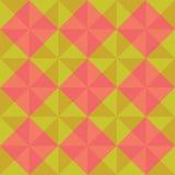 Abstrakt geometrisk sömlös volymtriangel Royaltyfri Fotografi