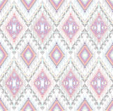Abstrakt geometrisk seamless aztec modell royaltyfri illustrationer