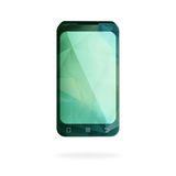 Abstrakt geometrisk smart telefon Royaltyfri Foto