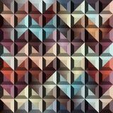 Abstrakt geometrisk sparre med lättnad Arkivfoton