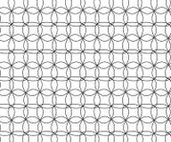 Abstrakt geometrisk svartvit hipsterdecokonst Arkivfoto