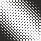 Abstrakt geometrisk svartvit tryckhalvton för grafisk design Royaltyfria Foton