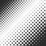 Abstrakt geometrisk svartvit tryckhalvton för grafisk design Royaltyfri Fotografi