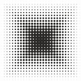 Abstrakt geometrisk svartvit tryckhalvton för grafisk design Fotografering för Bildbyråer