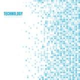 Abstrakt geometrisk vit och blå oval eller cirkelmodellbakgrund och textur med kopieringsutrymme Vektorbakgrund eps 10 Mosaiskt r vektor illustrationer