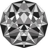 abstrakt geometriska linjer Arkivfoton
