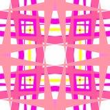 abstrakt geometriska rosa former Royaltyfria Foton