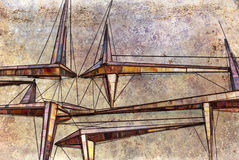 Abstrakt geometriskt bildar Royaltyfri Foto