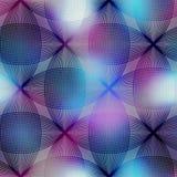 Abstrakt geometriskt diagram på suddig bakgrund Royaltyfri Fotografi