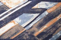 Abstrakt geometriskt färgrikt tryck Arkivfoton