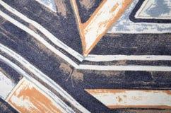 Abstrakt geometriskt färgrikt tryck Arkivfoto