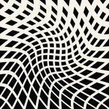 Abstrakt geometriskt trippy svartvitt bakgrundsmodelldiagram stock illustrationer
