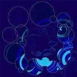 Abstrakt geometriskt tryck illustration Royaltyfri Foto