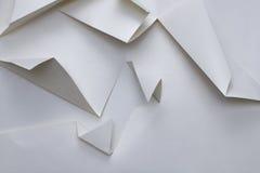 Abstrakt geometritriangelpapper Arkivbild