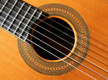 abstrakt gitarr Royaltyfria Bilder