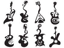 abstrakt gitarr Royaltyfri Bild