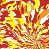 4 abstrakt gjorda bakgrundsbrandbilder Arkivfoto