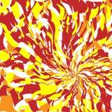 4 abstrakt gjorda bakgrundsbrandbilder Royaltyfri Fotografi