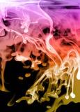 abstrakt glöda för vätska Arkivfoton