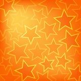 Abstrakt glödande stjärnabakgrund Royaltyfri Foto