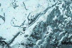Abstrakt glansig briljant bakgrund av turkosfärg Royaltyfri Fotografi